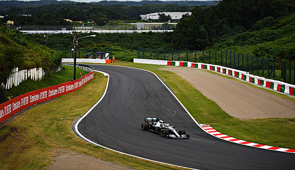 Lewis Hamilton peilt in Japan die Pole-Position an.