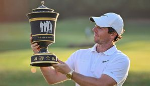 Rory McIlroy hat die World Golf Championship in Shanghai gewonnen.