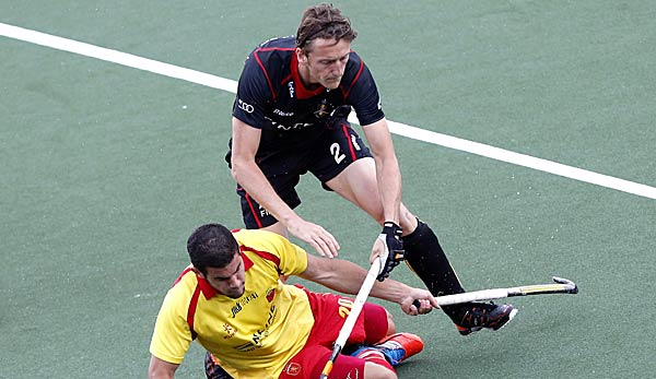 Xavier Reckinger (oben) war belgischer Nationalspieler