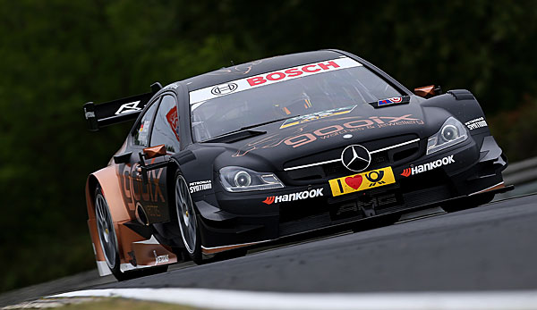 Pascal Wehrlein holte am Lausitzring die Pole
