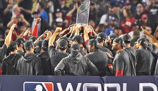Die Boston Red Sox haben die World Series 2018 gewonnen.