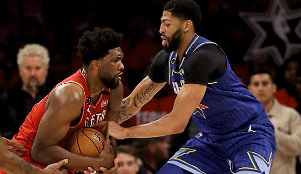 Anthony Davis entschied das All-Star Game von der Freiwurflinie.