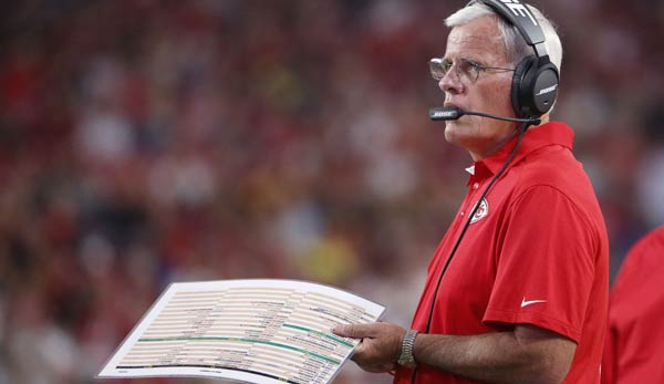 Bob Sutton war bis zum Ende der Saison 2018 der Defensive Coordinator der Kansas City Chiefs.