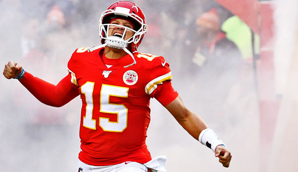 Patrick Mahomes ist seit 2018 der Starting Quarterback der Kansas City Chiefs.