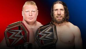 Daniel Bryan (r.) ist fünffacher World Champion in der WWE